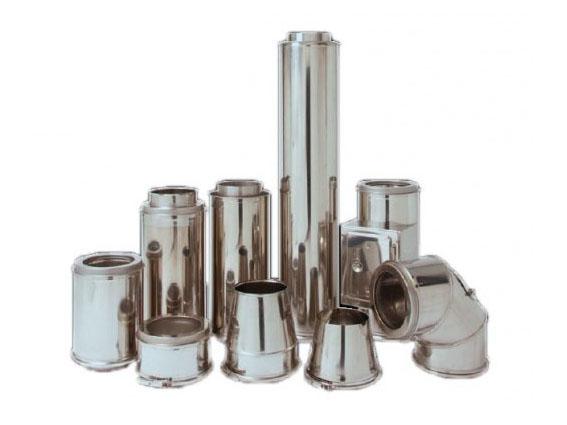 Isolatiemateriaal rookkanaal INOX / RVS